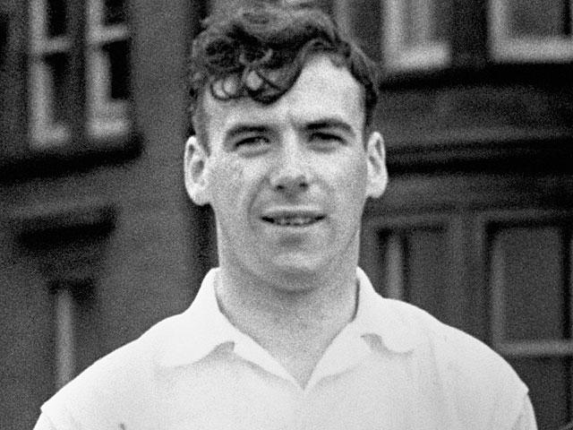 Hibernian's Lawrie Reilly on May 28, 1952