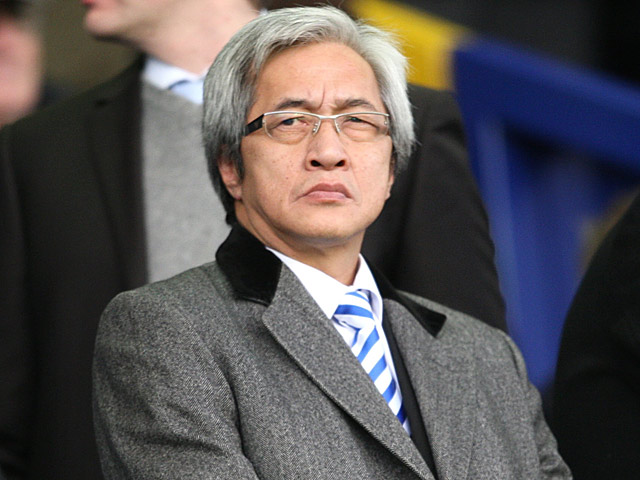 Birmingham City consultant Sammy Yu in the stands on December 20, 2009