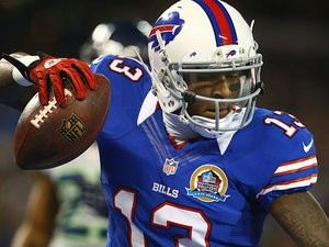 Buffalo Bills' Stevie Johnson in action on December 16, 2012