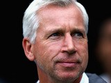 Newcastle manager Alan Pardew during a friendly match against Braga on August 10, 2013