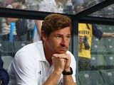 Tottenham Hotspur manager Andre Villas-Boas in the dugout during a friendly match against Sunderland on July 24, 2013