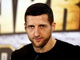 Carl Froch during a press conference on May 22, 2013