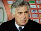 PSG manager Carlo Ancelotti on the touchline on December 21, 2012