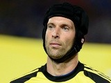 Chelsea 'keeper Petr Cech during a game against a Thailand XI on July 17, 2013