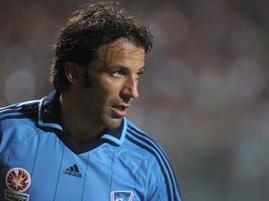 Sydney FC's Alessandro Del Piero in action on August 7, 2013