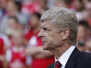 Arsenal manager Arsene Wenger on the touchline on August 4, 2013