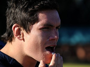South Africa's Francois Louw during a training session on June 18, 2013