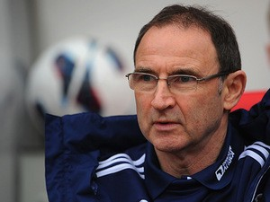 Sunderland's Martin O'Neill prior to kick off in the match against Norwich on March 17, 2013