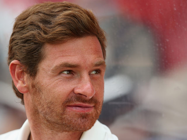 Andre Villas-Boas the manager of Tottenham Hotspur in action during the pre season friendly between Tottenham Hotspur and Swindon Town on July 16, 2013