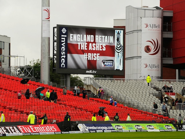 Confirmation of England retaining the Ashes on August 5, 2013