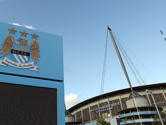 A general view of the Etihad Stadium, home of Manchester City on September 10, 2011