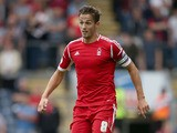 Chris Cohen of Nottingham Forest in action during the Sky Bet Championship match between Blackburn Rovers and Nottingham Forest at Ewood Park on August 10, 2013