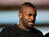 Darren Bent warms up prior to kick off during the Barclays Premier League match between Aston Villa and Norwich City at Villa Park on October 27, 2012