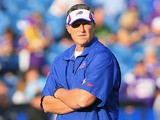 Buffalo Bills head coach Doug Marrone watches his team during the game against Minnesota Vikings on August 16, 2013