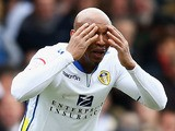 El-Hadji Diouf of Leeds United looks onduring the npower Championship match between Leeds United and Huddersfield Town at Elland Road on March 16, 2013