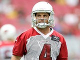 Arizona Cardinals' Jay Feely during training camp on July 26, 2013