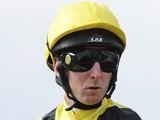 Martin Dwyer at Newbury racecourse on September 17, 2010