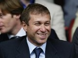 Roman Abramovich before Chelsea's match away at Liverpool in 2003.