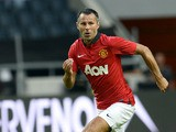 Manchester United's midfielder Ryan Giggs controls the ball during a friendly football match between AIK and Manchester United on August 6, 2013
