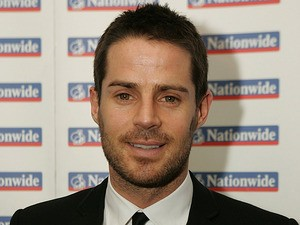 Jamie Redknapp at the HMV Football Extravaganza in London on February 3, 2009