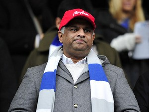 Queens Park Rangers' Malaysian chairman Tony Fernandes taken on December 15, 2012