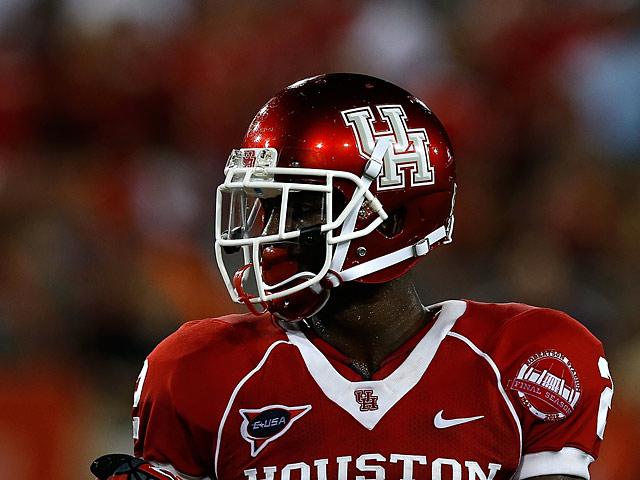 Houston Cougars' D.J. Hayden in action on September 1, 2012