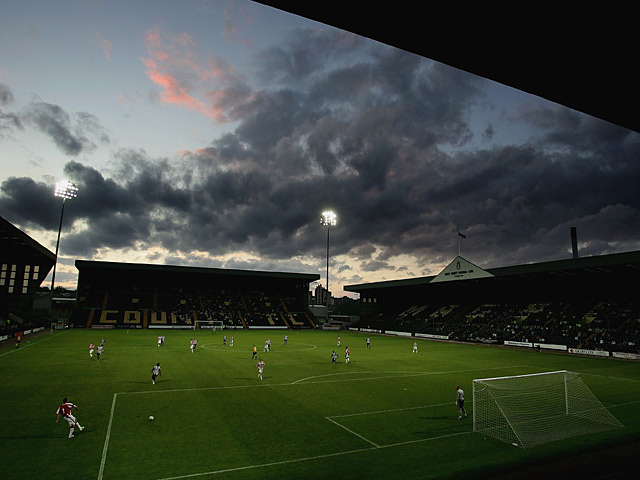 A general view of Meadow Lane, home of Notts County on August 1, 2006