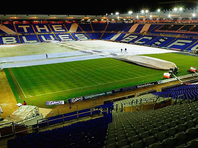 A general view of St Andrew's, home of Birmingham City on December 28, 2005