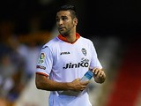 Valencia's Adil Rami in action during the match against Malaga on August 17, 2013