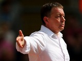 Forest boss Billy Davies during the match against Watford on August 25, 2013