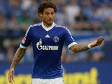 Schalke's Jermaine Jones in action against Hamburg on August 11, 2013