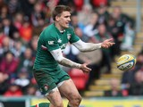 Leicester's Toby Flood in action against Harlequins on May 11, 2013