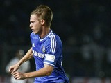 Tomas Kalas of Chelsea in action during the match between Chelsea and Indonesia All-Stars at Gelora Bung Karno Stadium on July 25, 2013