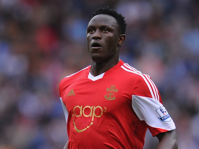 Southampton midfielder Victor Wanyama in action against West Brom on August 17, 2013