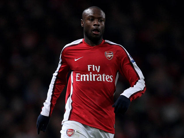 William Gallas of Arsenal in action during the Barclays Premier League match between Arsenal and Bolton Wanderers at The Emirates Stadium on January 20, 2010