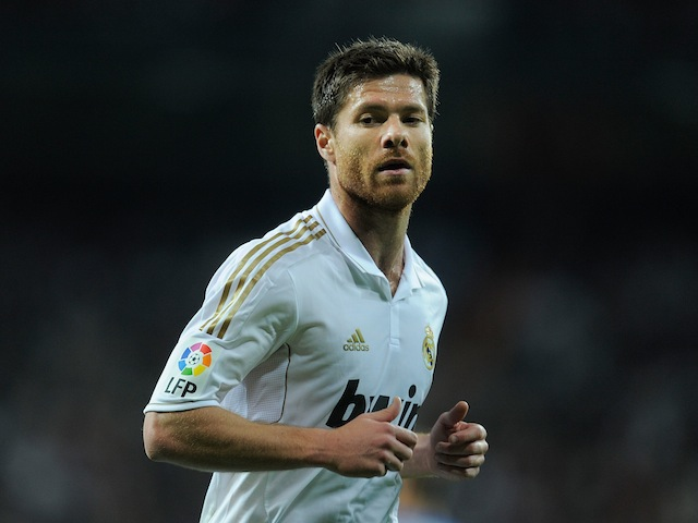 Real Madrid midfielder Xabi Alonso on March 24, 2012