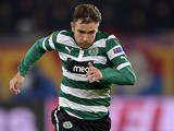 Sporting's Diego Capel in action during the match against Basel on November 22, 2012