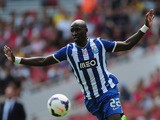 Eliaquim Mangala of FC Porto in action during the Emirates Cup match between Napoli and FC Porto at the Emirates Stadium on August 4, 2013