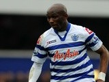 QPR midfielder Stephane Mbia in action against Sunderland on March 9, 2013