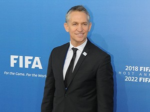 Gary Lineker arrives in Zurich for the England bid at the FIFA World Cup 2018 & 2022 Host Announcement on December 2, 2010