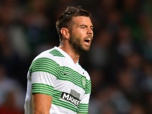 Celtic's Joe Ledley during a qualifying match on August 2, 2013