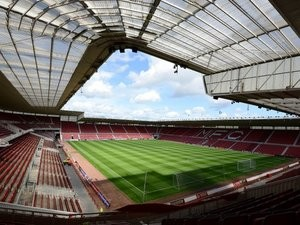 A general view of Middlesbrough's Riverside Stadium.