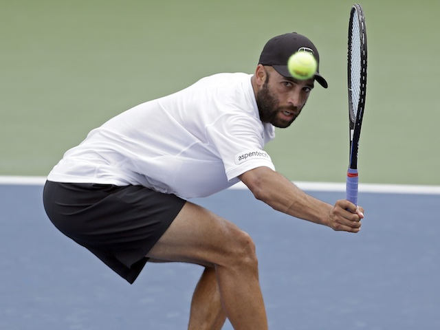 James Blake takes on Benoit Paire on August 20, 2013