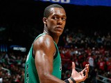 Boston Celtics' Rajon Rondo in action against Atlanta Hawks on January 25, 2013