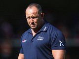 Steve Diamond the Director of Rugby of Sale Sharks during the Aviva Premiership match between Gloucester and Sale Sharks at Kingsholm Stadium on September 7, 2013