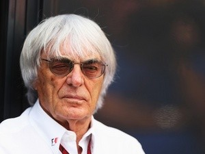 F1 supremo Bernie Ecclestone at Monza, Italy on September 8, 2013