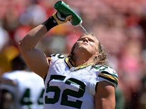 Packers' Clay Matthews during a game with San Francisco on September 8, 2013