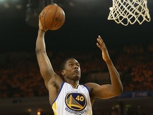 Golden State Warriors' Harrison Barnes in action against San Antonio Spurs on May 10, 2013
