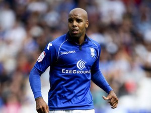 Marlon King of Birmingham in action during the npower Championship match between Birmingham City and Charlton Athletic at St. Andrews Stadium on August 18, 2012