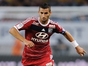 Lyon midfielder Maxime Gonalons in action against Sochaux on August 16, 2013